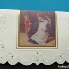 Postales: POSTAL DOBLE TROQUELADA COLECCIÓN LAURA SEDDON SIN USAR. Lote 191323442