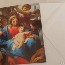 Postales: CHRISTMA DE NAVIDAD FUNDACIÓN VICENTE FERRER. Lote 191630262