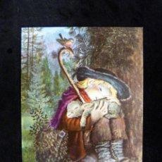 Postales: POSTAL NAVIDAD 13,5 X 10 CM. FERRÁNDIZ, DÍPTICO A.1871-1. ESCRITA. Lote 191757392