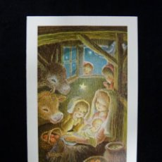 Postales: POSTAL NAVIDAD 15 X 9 CM. FERRÁNDIZ, 9221. ESCRITA. Lote 191757790