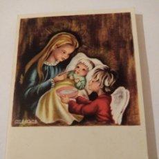 Postales: ANTIGUO CHRISTMA EDICIONES JBR N°447, ILUSTRA M.A. PRUNA. Lote 192508948