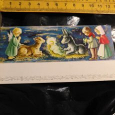 Postales: HAGA SU OFERTA ANTIGUO CHRISTMAS FELICITACIONES DE NAVIDAD TARJETA NAVIDEÑA BELEN . Lote 193843887