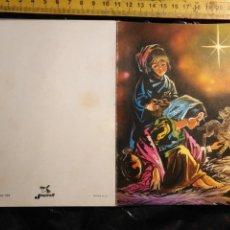 Postales: HAGA SU OFERTA ANTIGUO CHRISTMAS FELICITACIONES DE NAVIDAD TARJETA NAVIDEÑA BELEN . Lote 193850997