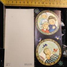Postales: HAGA SU OFERTA ANTIGUO CHRISTMAS FELICITACIONES DE NAVIDAD TARJETA NAVIDEÑA BELEN . Lote 193852642