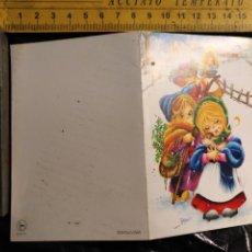 Postales: HAGA SU OFERTA ANTIGUO CHRISTMAS FELICITACIONES DE NAVIDAD TARJETA NAVIDEÑA BELEN . Lote 193854103