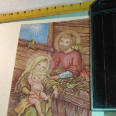 Postales: HAGA SU OFERTA ANTIGUO CHRISTMAS FELICITACIONES NAVIDAD TARJETA NAVIDEÑA BELEN NACIMIENTO SENCILLO. Lote 281022013