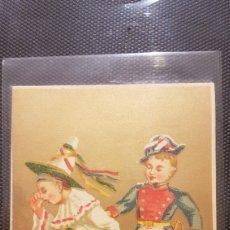 Postales: POSTAL LOS MOZOS NAVIDAD. Lote 194243577