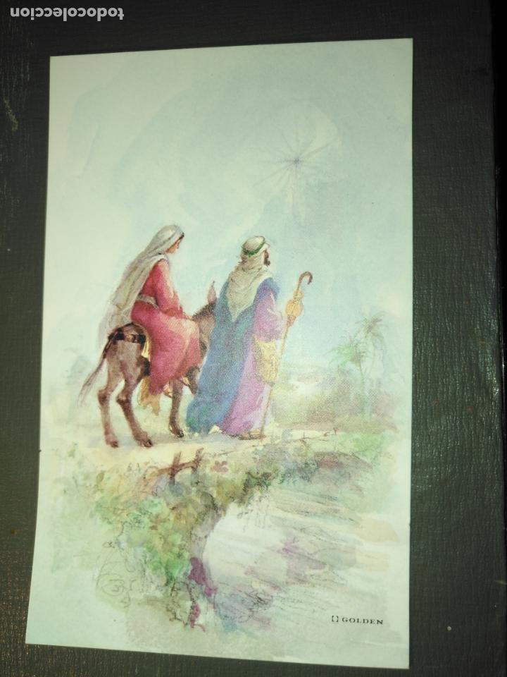 HAGA SU OFERTA ANTIGUO CHRISTMA FELICITACIONES DE NAVIDAD TARJETA NAVIDEÑA BELEN NACIMIENTO (Postales - Postales Temáticas - Navidad)