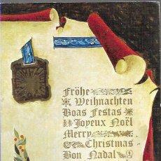 Postales: FELICITACION NAVIDAD VICENTE ROSO * * ANCORA 1971. Lote 194264813