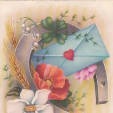Postales: POSTAL DE FELICITACIÓN NAVIDEÑA. EDITA C Y Z. SIN CIRCULAR.. Lote 194322835