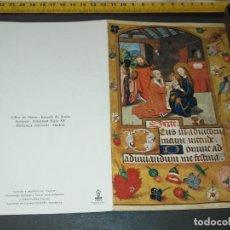Postales: HAGA SU OFERTA ANTIGUO CHRISTMA FELICITACIONES DE NAVIDAD TARJETA NAVIDEÑA BELEN NACIMIENTO. Lote 194354031