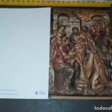 Postales: HAGA SU OFERTA ANTIGUO CHRISTMA FELICITACIONES DE NAVIDAD TARJETA NAVIDEÑA BELEN NACIMIENTO. Lote 194354100