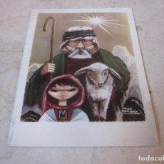 Postales: FELICITACION ESCRITA NAVIDAD 1959. Lote 194360138