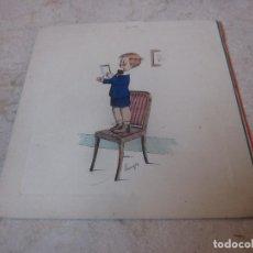 Postales: FELICITACION NAVIDAD ESCRITA AÑOS 50. Lote 194360150