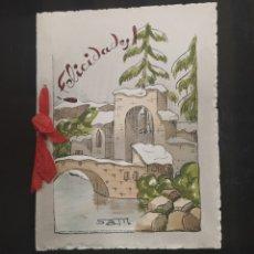 Postales: C.R. FELICITACION NAVIDEÑA, MUY BONITA!! MODELO 1. Lote 194365666