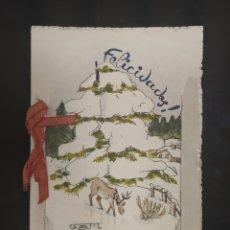 Postales: C.R. FELICITACION NAVIDEÑA, MUY BONITA!! MODELO 2. Lote 194366178