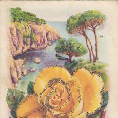 Postales: POSTAL DE FELICITACIÓN. IMPRESA EN ESPAÑA. ESCRITA.. Lote 194502697