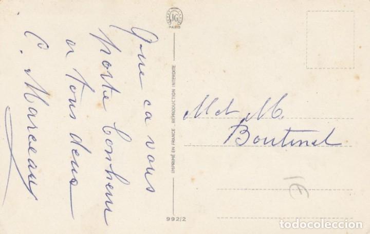 Postales: Postal ilustrada de felicitación. Francia. Escrita. - Foto 2 - 194509157