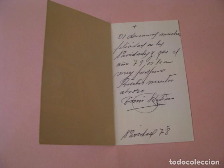 Postales: POSTAL DIPTICA DE NAVIDAD. ED. JBR. ESCRITA. 1978. 13X7,5 CM. - Foto 2 - 194522436
