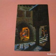 Postales: POSTAL DIPTICA DE NAVIDAD. ED. REINO UNIDO. ESCRITA. 14X9,5 CM.. Lote 194522697