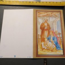 Postales: HAGA SU OFERTA ANTIGUO CHRISTMA FELICITACIONES DE NAVIDAD TARJETA NAVIDEÑA BELEN NACIMIENTO. Lote 194539806