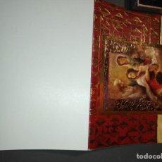 Postales: HAGA SU OFERTA ANTIGUO CHRISTMA FELICITACIONES DE NAVIDAD TARJETA NAVIDEÑA BELEN NACIMIENTO . Lote 194645081