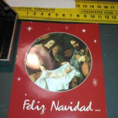 Postales: HAGA SU OFERTA ANTIGUO CHRISTMA FELICITACIONES DE NAVIDAD TARJETA NAVIDEÑA BELEN NACIMIENTO . Lote 194645156