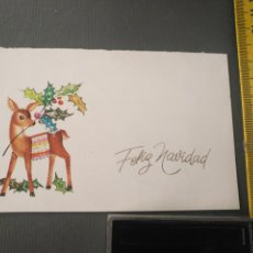 Postales: HAGA SU OFERTA ANTIGUO CHRISTMA FELICITACIONES DE NAVIDAD TARJETA NAVIDEÑA BELEN NACIMIENTO . Lote 194665338
