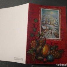 Postales: HAGA SU OFERTA ANTIGUO CHRISTMA FELICITACIONES DE NAVIDAD TARJETA NAVIDEÑA BELEN NACIMIENTO . Lote 194665373