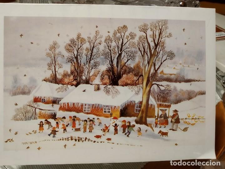 ESTAMPA NAVIDEÑA (Postales - Postales Temáticas - Navidad)