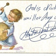 Postales: TARJETA POSTAL NAVIDAD *CONSTANZA* - CYZ 552-B - 11X6,2 CM. Lote 194976606
