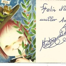 Postales: TARJETA NAVIDAD *FERRÁNDIZ* - REF. 367 - 11,5X7 CM. Lote 194976851
