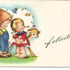 Postales: TARJETA NAVIDAD *GRANADOS*? - ED. PAJARITA, SERIE 312 -11X6,5 CM, AÑO 1959. Lote 194977062