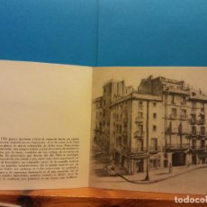 Postales: INSTITUTO MUNICIPAL DE HISTORIA DE BARCELONA. 1955. TARJETA NAVIDEÑA. DÍPTICO. USADA. Lote 195165892