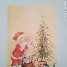 Postales: FELICITACIÓN NAVIDAD PAPÁ NOEL ÁRBOL CONSTANZA CYZ. Lote 195178792