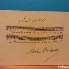 Postales: JAUT NADAL, 1950. HERMOSA FELICITACIÓN NAVIDEÑA. . Lote 195199458