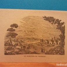 Postales: LA ALBUFERA DE VALENCIA. HERMOSA FELICITACIÓN NAVIDEÑA. Lote 195251381