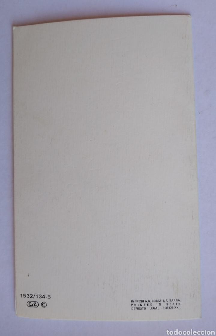 Postales: Tarjeta diptico felicitación Navidad ilustra Constanza / 8,5 x 13,5 cm - Foto 3 - 195323633