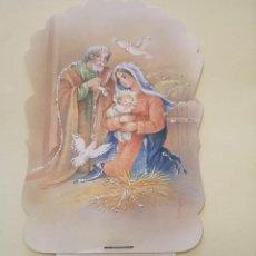 Postales: PRECIOSA POSTAL NAVIDEÑA CON ALMANAQUE 1992. Lote 195410445