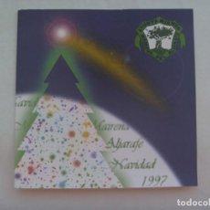 Postales: TARJETA DE FELICITACION DE NAVIDAD DEL ALCALDE DE MAIRENA DEL ALJARAFE ( SEVILLA ), 1997. Lote 195430597