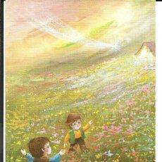Cartes Postales: FELICITACION NAVIDAD *JOAN* - NIÑOS MIRANDO LA ESTRELLA - 13,5X8,5 CM. Lote 195676432