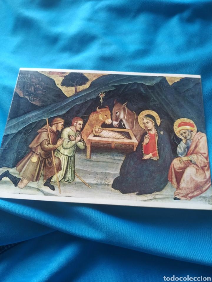 TARGETA O POSTAL NAVIDAD NAVIDEÑA ESCRITA 1972 (Postales - Postales Temáticas - Navidad)