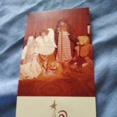 Postales: POSTAL NAVIDEÑA TARGETA DE NAVIDAD .ESCRITA. Lote 197090388
