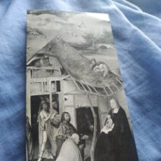 Postales: POSTAL NAVIDAD TARGETA FELICITACION NAVIDEÑA. ANTIGUA.ESCRITA 1975 ADORACION MAGOS EL BOSCO. Lote 197262416