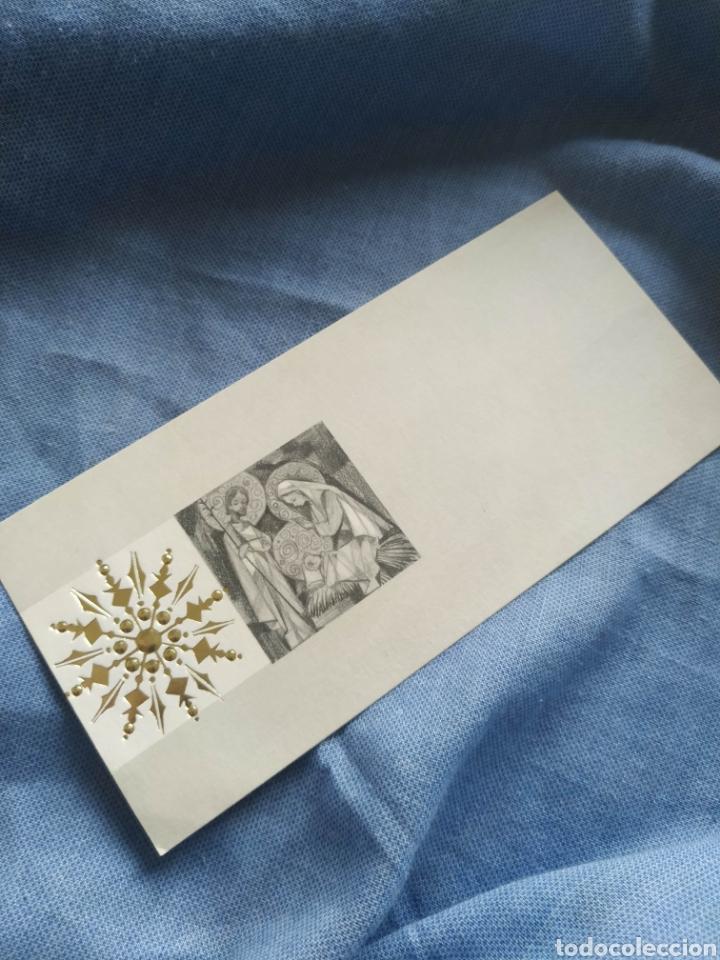 POSTAL NAVIDAD TARGETA FELICITACION NAVIDEÑA. ANTIGUA.ESCRITA 1967 (Postales - Postales Temáticas - Navidad)