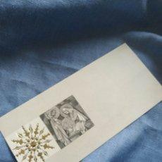 Postales: POSTAL NAVIDAD TARGETA FELICITACION NAVIDEÑA. ANTIGUA.ESCRITA 1967. Lote 197275433