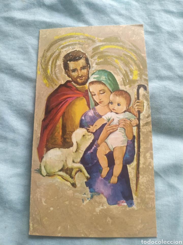 POSTAL NAVIDAD TARGETA FELICITACION NAVIDEÑA. ESCRITA (Postales - Postales Temáticas - Navidad)