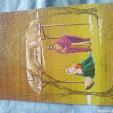 Postales: POSTAL NAVIDAD TARGETA FELICITACION NAVIDEÑA. ESCRITA. Lote 197502332