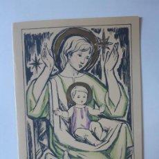 Cartes Postales: BONITA POSTAL DE NAVIDAD. DE COLECCION. DIPTICO. F, RIBAS, ESCRITA. Lote 197750660