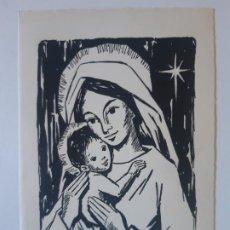 Cartes Postales: BONITA POSTAL DE NAVIDAD. DE COLECCION. DIPTICO, ESCRITA. ROSA GALCERAN. Lote 197764231